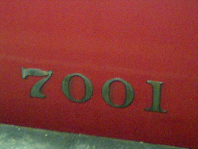 <<リアルタイム>>7001F、4連で運転再開